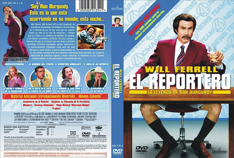 EL REPORTERO LA LEYENDA DE RON BURGUNDY DVD ...