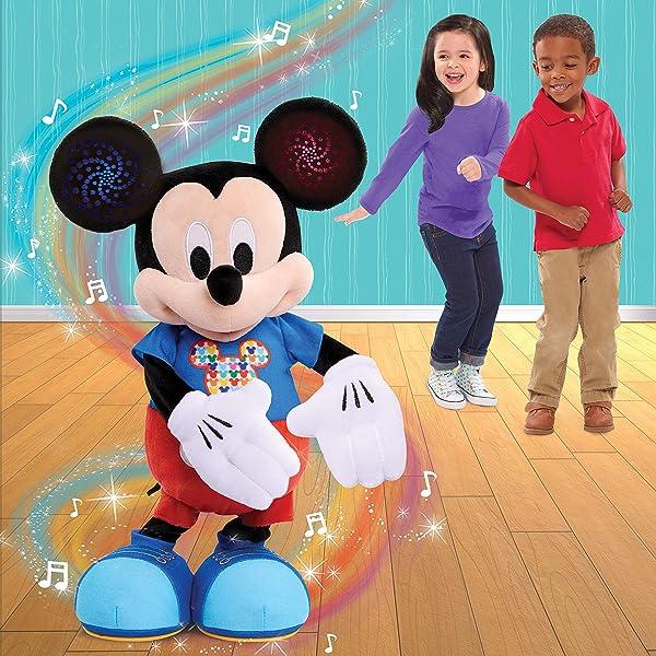 Mickey Mouse Hot Dog Dance Break Plushr
