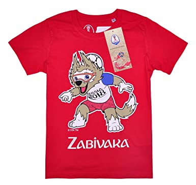 76aaaf498b56 Official Licensed FIFA World Cup 2018 Short Sleeve t Top T-Shirt ...