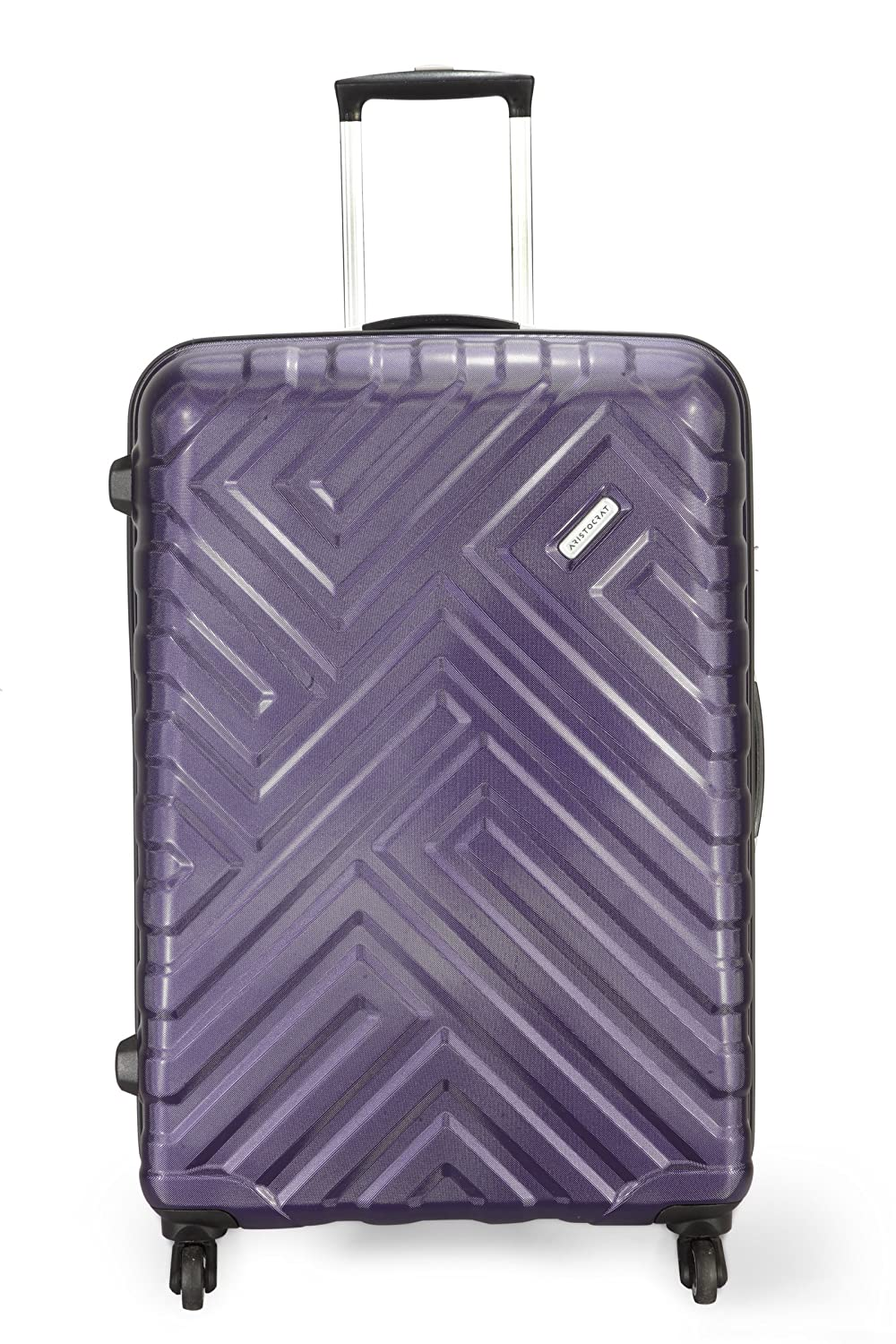 Aristocrat Polycarbonate 56 cms Purple Hardsided Carry On