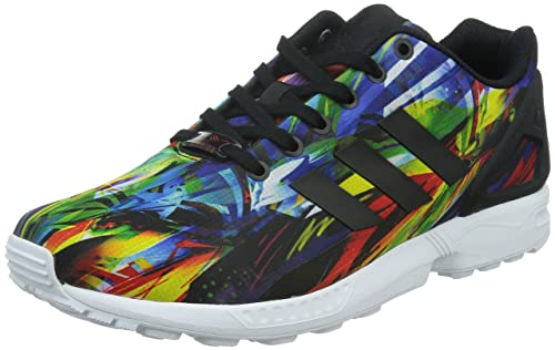 buy popular d3b16 9d946 Adidas Zx Flux, Scarpe da Corsa Unisex Adulto, Multicolore (Negro Amarillo