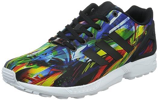 9e6184c924c4e ... get adidas mens zx flux rainbow black white b4db3 d3189