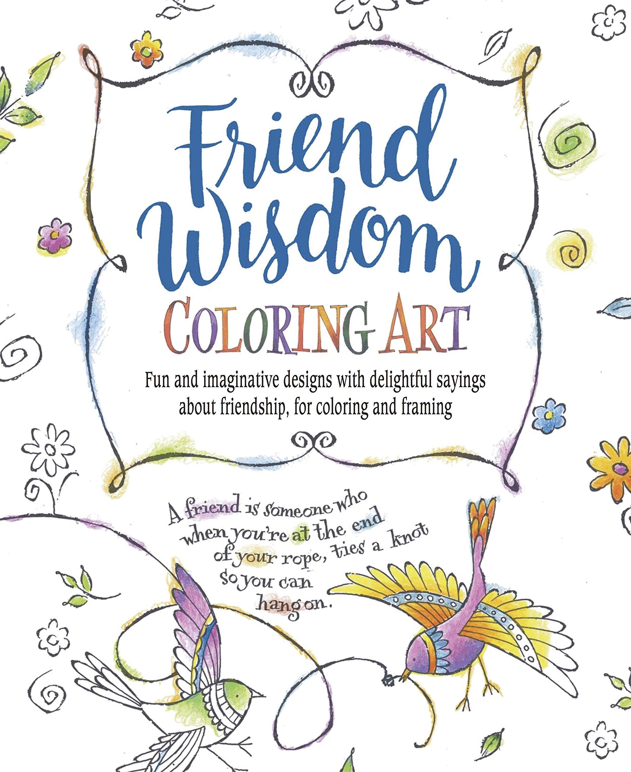 Download Friend Wisdom Coloring Art ebook