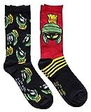Hyp Marvin the Martian Stripes Men's Crew Socks 2