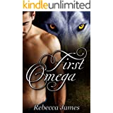 First Omega: MM Paranormal Shifter Romance (River Wolf Pack Series Book 1)