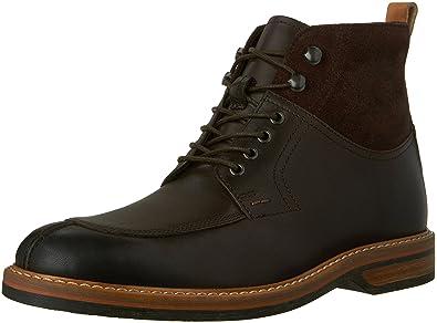 0e9afb868699 Clarks Narrative Pitney Hi Men US 10.5 Brown Split Toe Boot  Amazon ...