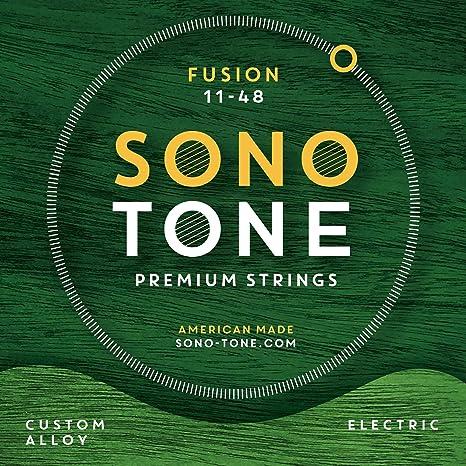 SonoTone Fusion - Cuerdas para guitarra eléctrica (11-48)