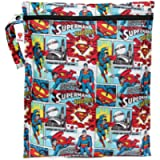Bumkins Waterproof Wet Bag, Superman
