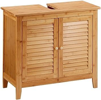 Schön Relaxdays Waschbeckenunterschrank LAMELL Aus Bambus H X B X T: Ca. 60 X 67