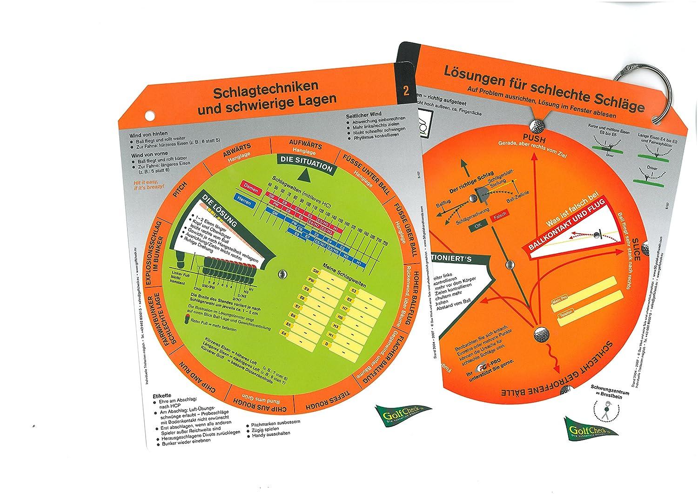 Golf Check - Compartimentos, 2 drehscheiben: Amazon.es ...