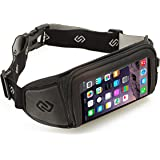 Sporteer Kinetic K1 Sport Belt for iPhone 7 Plus, 6S Plus, iPhone 7, 6S, Galaxy S8, S8 Plus, Google Pixel XL, Note 5, Galaxy S7 , S7 Edge, LG G6, Moto G4, Moto Z, Nexus 6P, and Other Phones with Cases