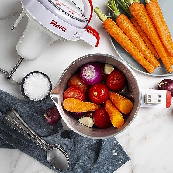 Nova 210300 - Licuadora y máquina para hacer sopa, batidos o salsas, capacidad 1.3 L, 200 W, acero inoxidable, completamente automática: Amazon.es: Hogar