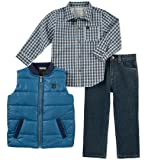 Calvin Klein Boys' Toddler 3 Pieces Vest