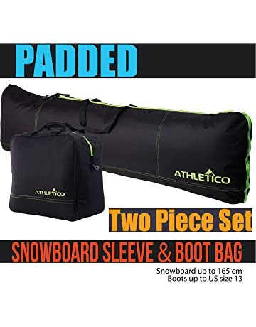 1bce602bd9a Athletico Padded Two-Piece Snowboard and Boot Bag Combo   Store   Transport  Snowboard Up