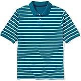 Amazon Essentials Men's Big & Tall Cotton Pique Polo Shirt fit by DXL