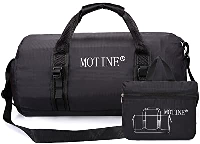 MOTINE Foldable Waterproof Travel Luggage Duffle Bag