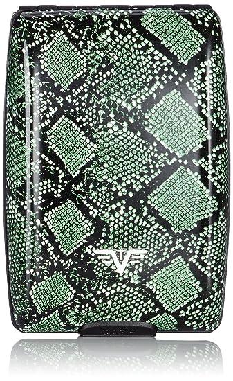 Tru Virtu Portemonnaie Cash Cards Green Python