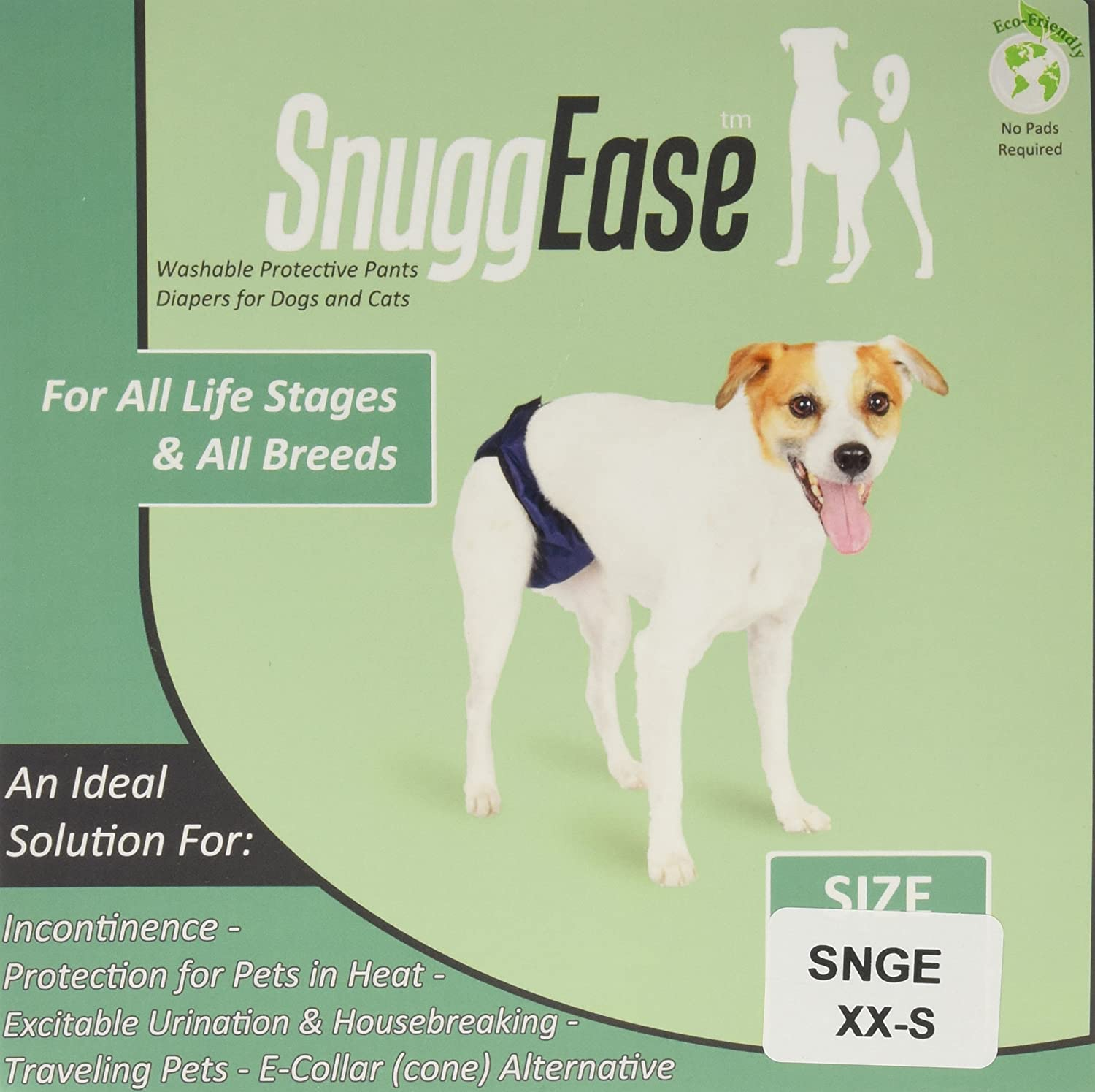 XX-Large Integrated Pet Solutions SnuggEase Washable Dog Diaper