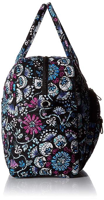 ac2ca08548a6 Amazon.com  Vera Bradley womens Iconic Weekender Travel Bag ...