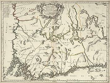 Amazon world atlas 1688 finland historic antique vintage world atlas 1688 finland historic antique vintage map reprint gumiabroncs Gallery