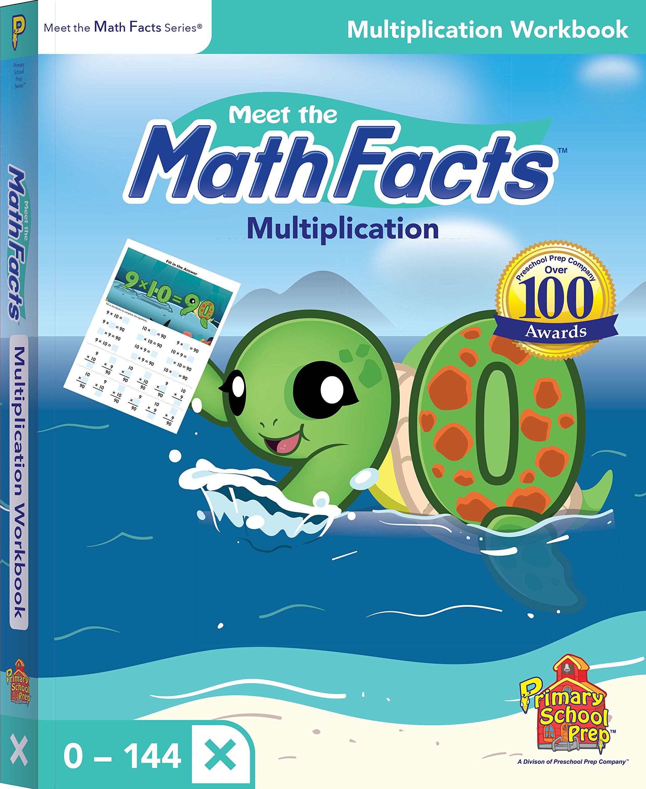 Meet the Math Facts: Multiplication Workbook: Kathy Oxley, Kathy ...