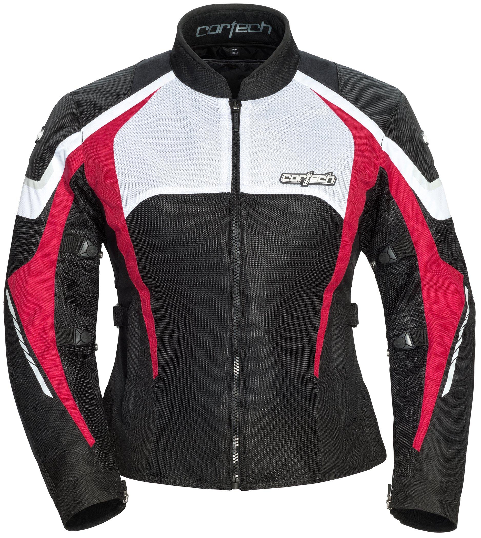 Cortech Women's GX-Sport Air 5.0 Jacket (Black/Pink, Large), 1 Pack