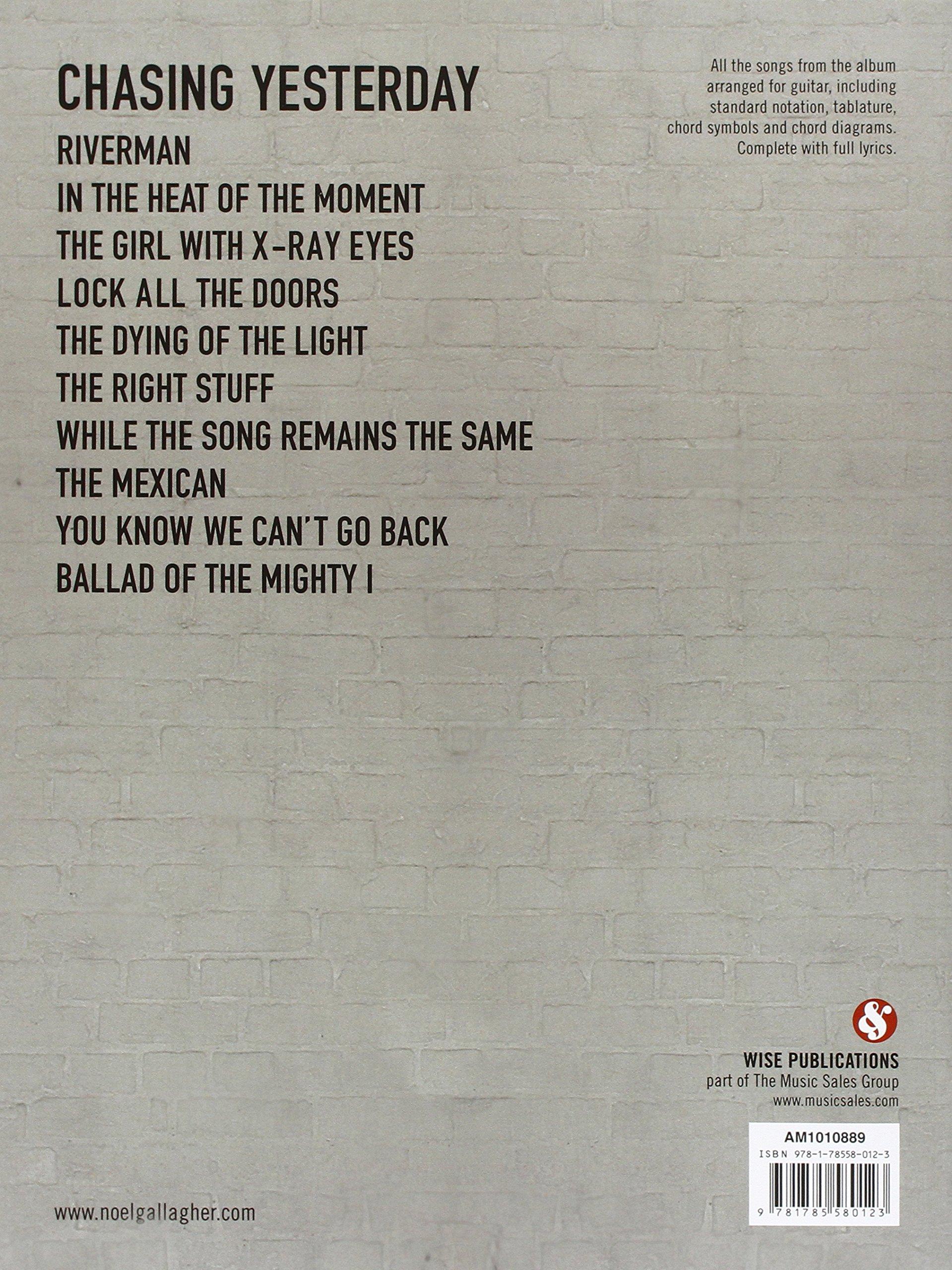 Noel Gallaghers High Flying Birds Chasing Yesterday Tab Guitar Tab