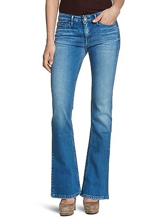4e57cdc8 Tommy Hilfiger Women's Flare Jeans - Blue - Blau (080 NEW ORLEANS) - 27
