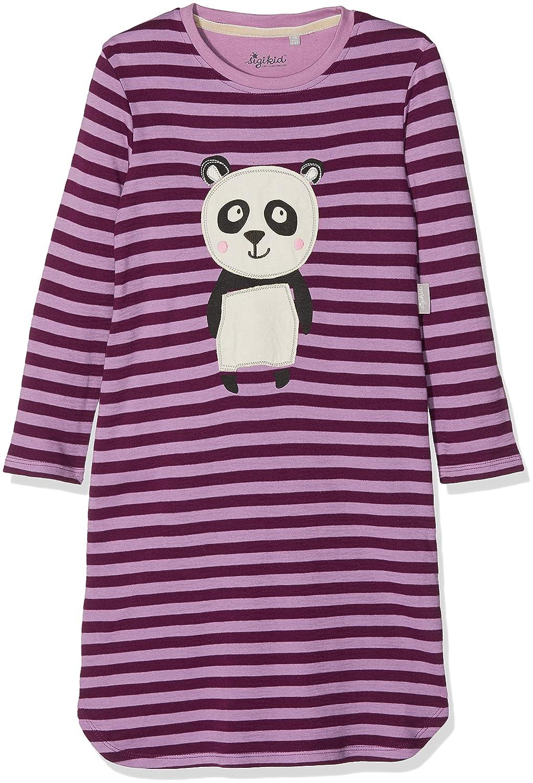 Sigikid Nachthemd, Mini, Camicia da Notte Bimba (Dark Purple 218) Unica (Taglia Produttore: 86) 160203