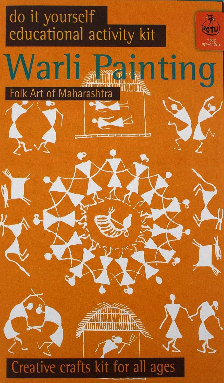 Buy potli diy indian art kit warli painting multi color online at buy potli diy indian art kit warli painting multi color online at low prices in india amazon solutioingenieria Image collections