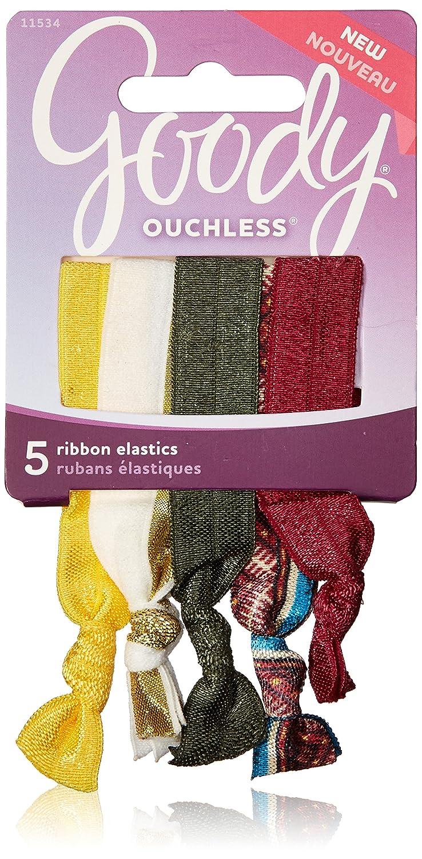 Amazon.com   Goody Ouchless Ribbon Hair Tie Elastics 6bbb5e9acb2