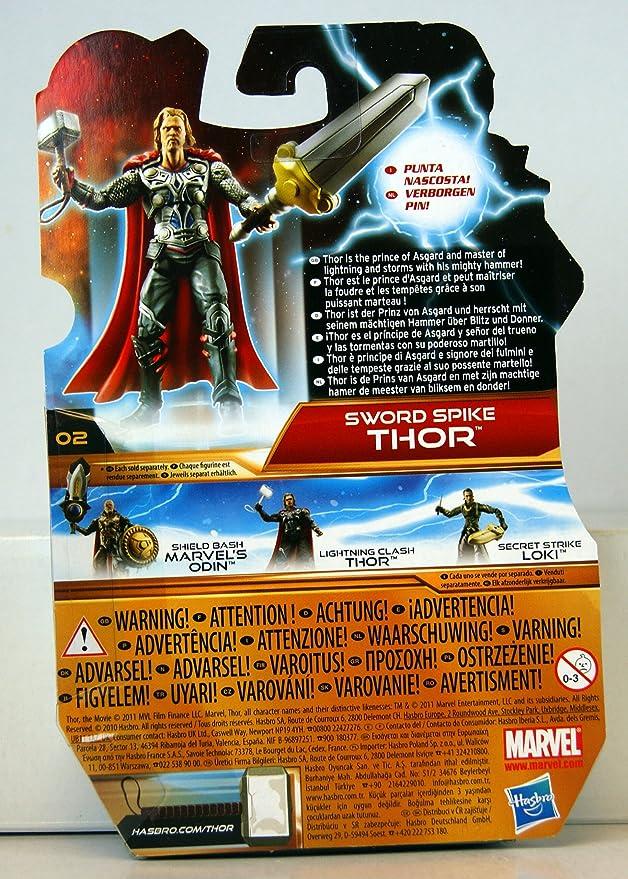 Amazon.com: Thor, el Mighty Avenger – Figura de acción Sword ...