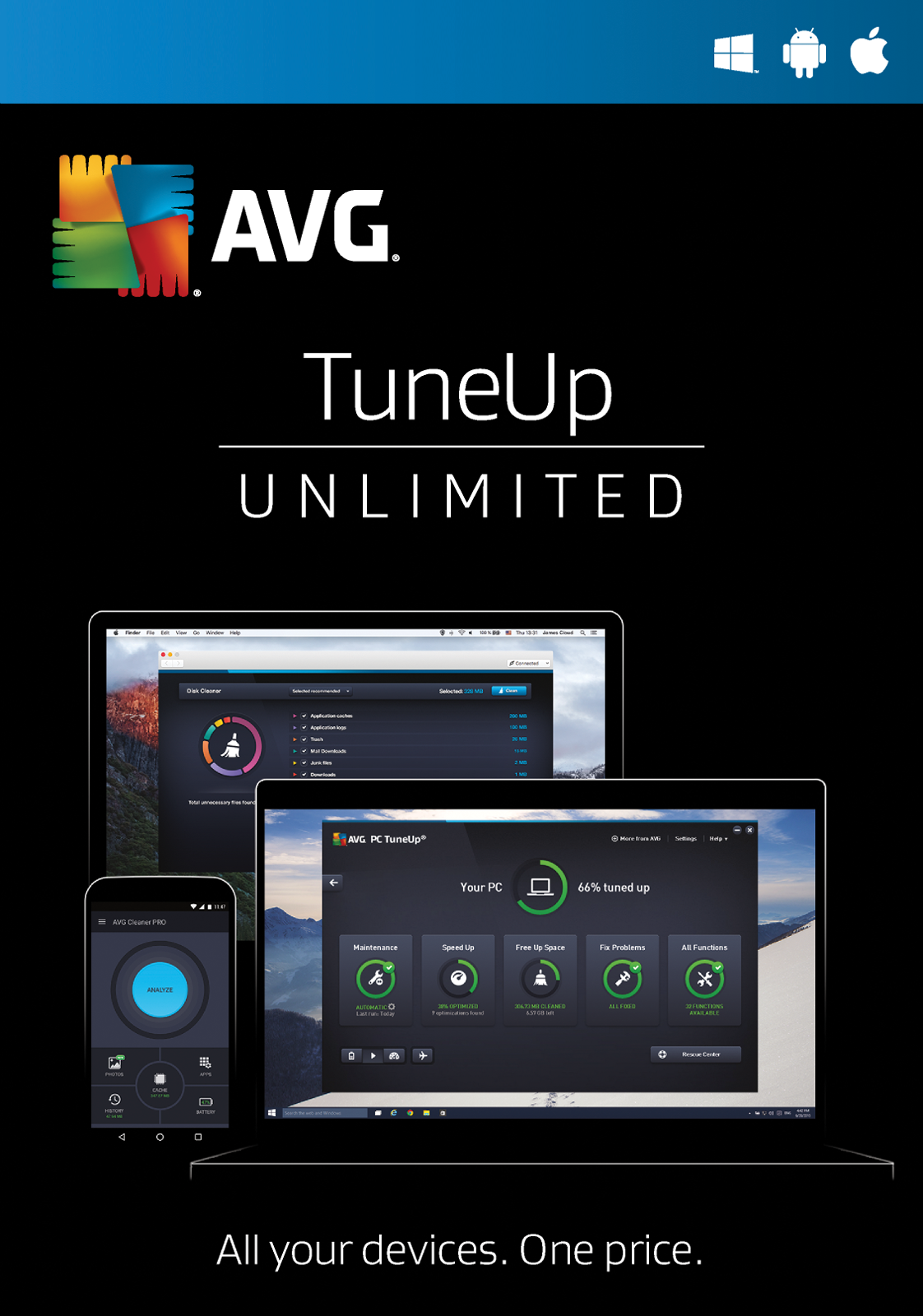 avg pc cleanup free