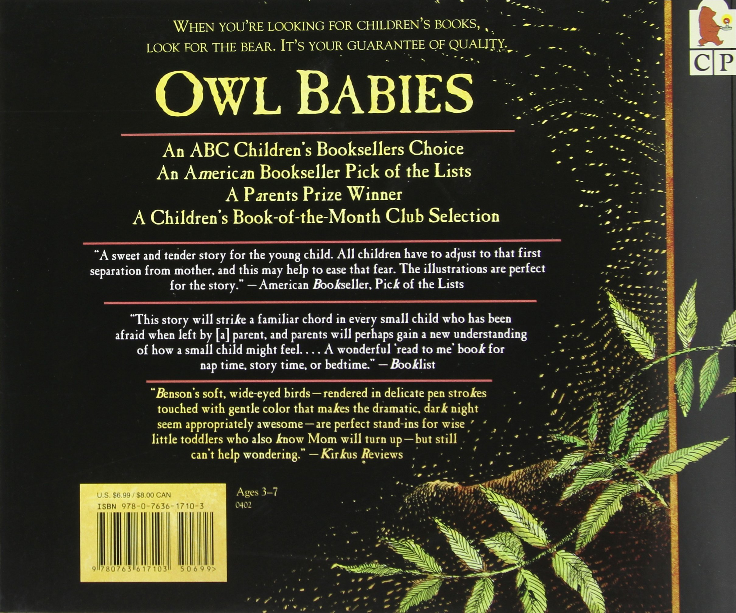 1874ab6a6a566 Owl Babies  Martin Waddell