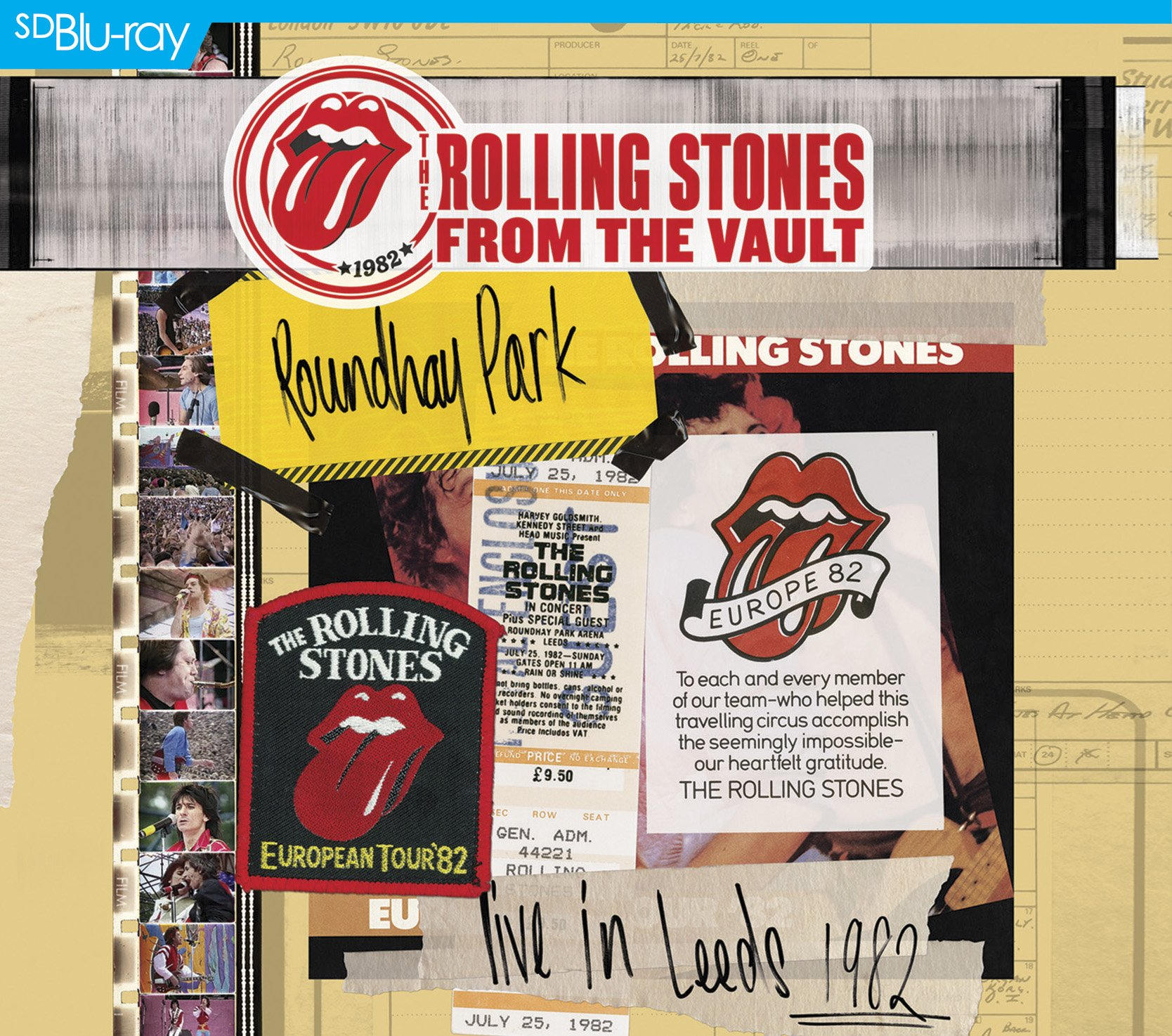 Blu-ray : The Rolling Stones - The Rolling Stones: From the Vault - Live in Leeds 1982 (With CD, 3 Disc)