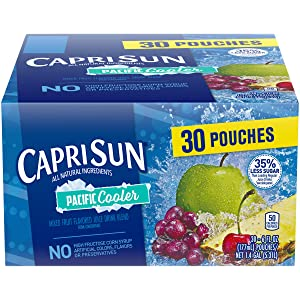 Capri Sun Pacific Cooler Juice Drink, 30 - 6 fl oz Pouches