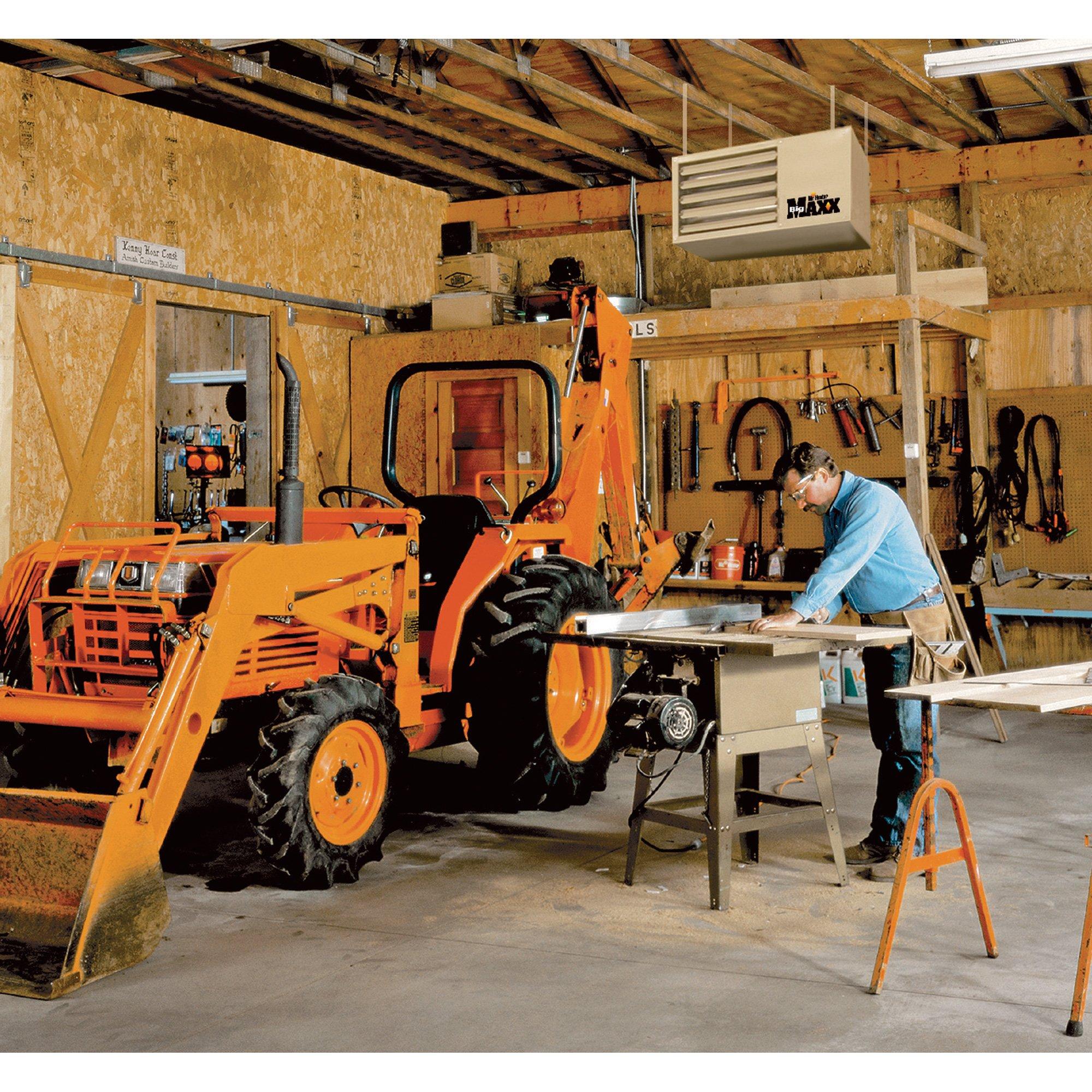 Mr. Heater Big Maxx Natural Gas Garage/Workshop Heater - 80,000 BTU, Model# MHU80NG