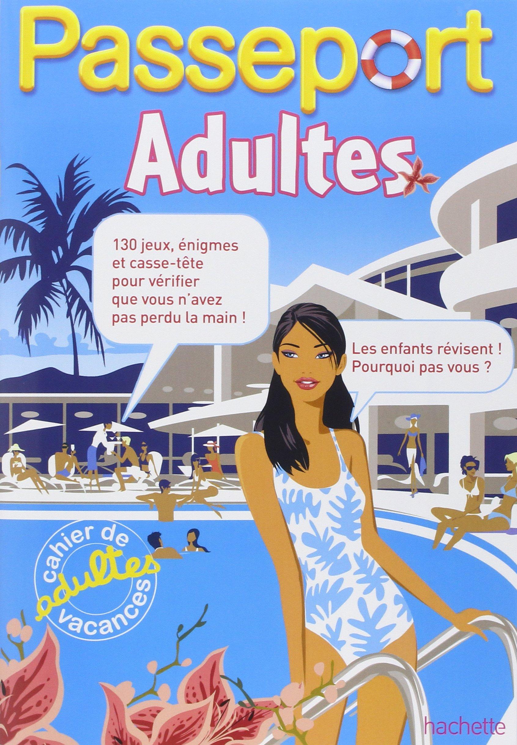 cahier de vacances adultes