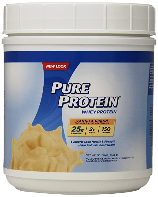 Pure Protein Whey Powder 1lb O...