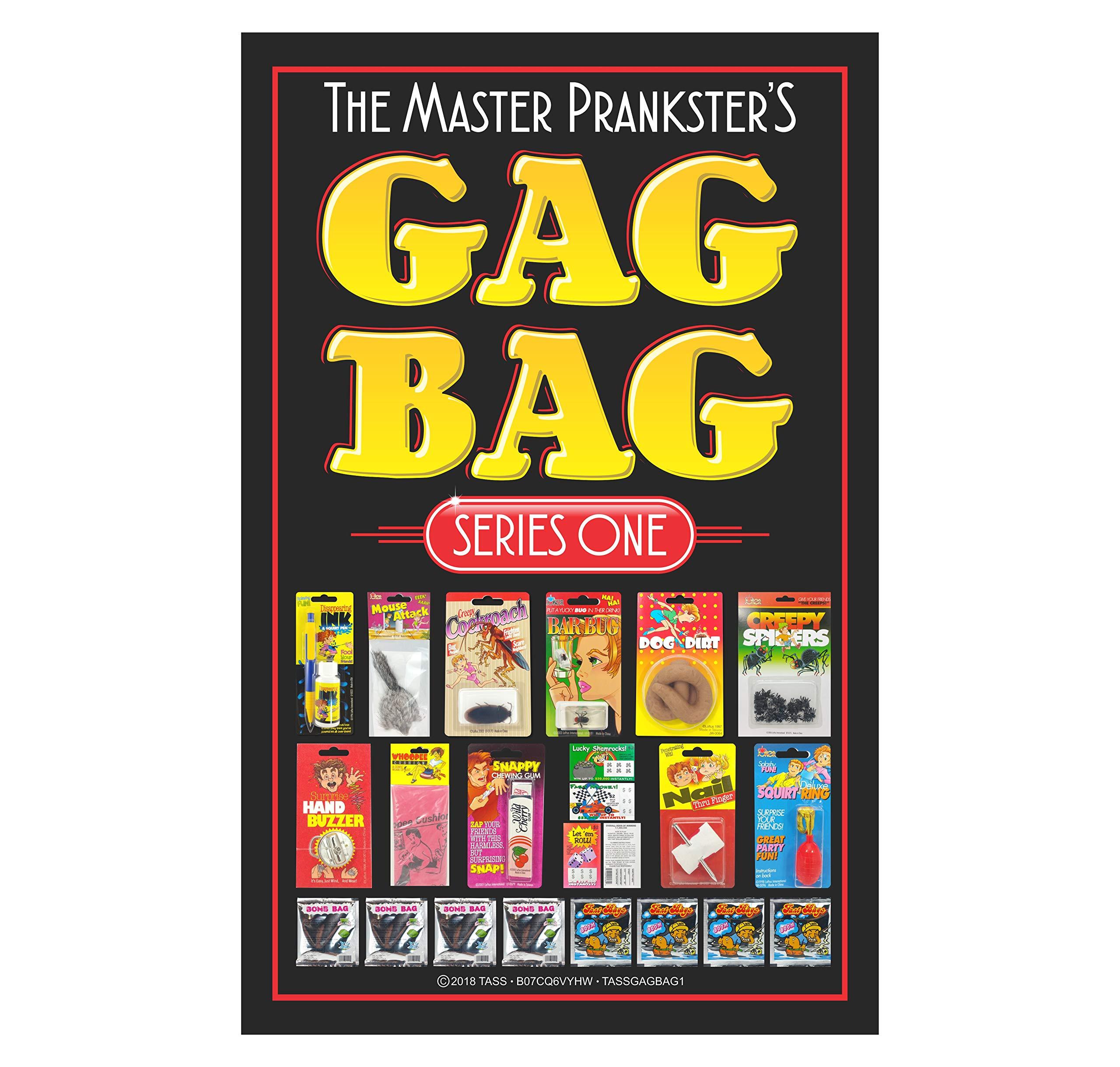 TASS The Master Prankster's Gag Bag Series One Prank Kit, Funny Classic & New Novelties Jokes by TASS (Image #2)
