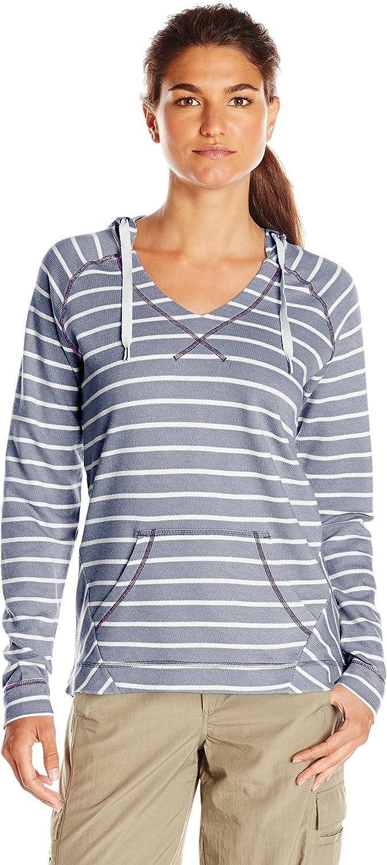 Columbia Women's Tropic Haven Stripe Hoodie