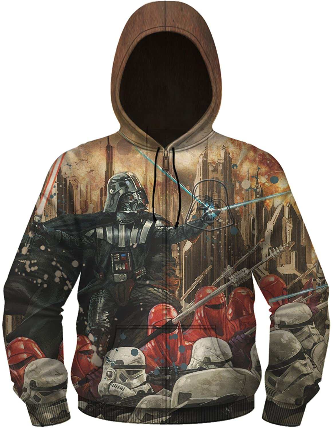 Star Wars Mens Standard Darth Vader Jacket SWSRBQXMJHPP1XX
