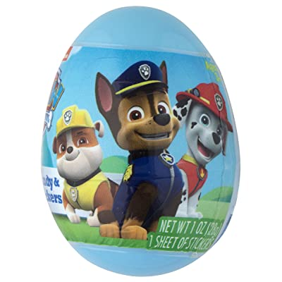 NEW!!! For Easter Pack of 3 Paw patrol Characters plastic surprise Eggs Party Favors For Boys and girls!: Toys & Games