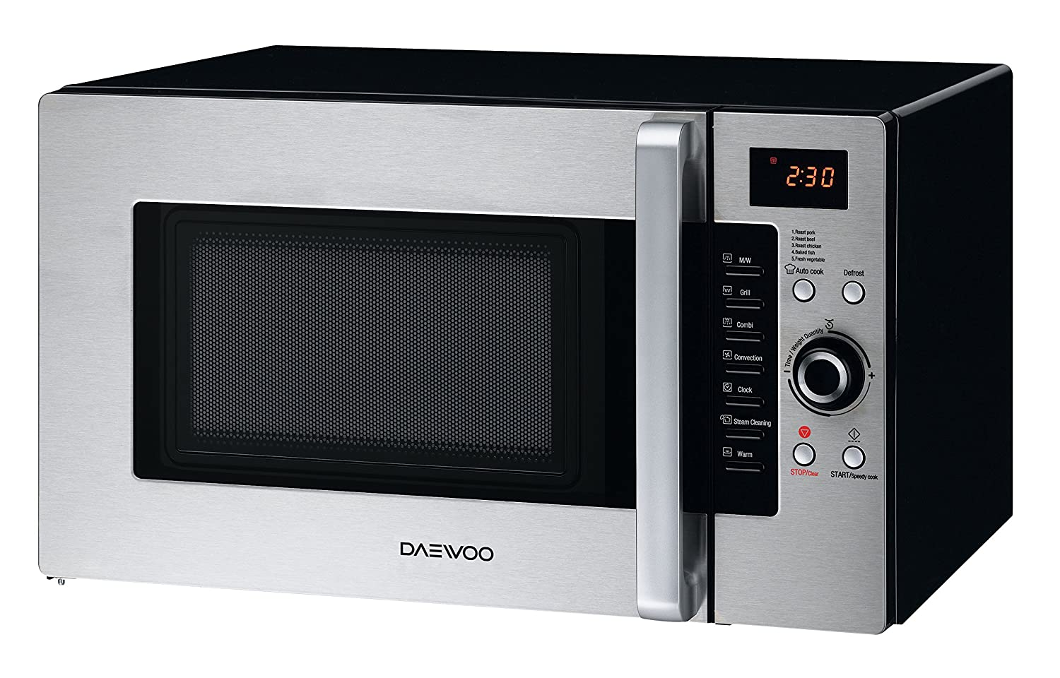 Amazon.com: Daewoo KOC-9Q4DS Convection Microwave Oven 1.0 Cu. Ft., 900W |  Stainless Steel: Cell Phones & Accessories