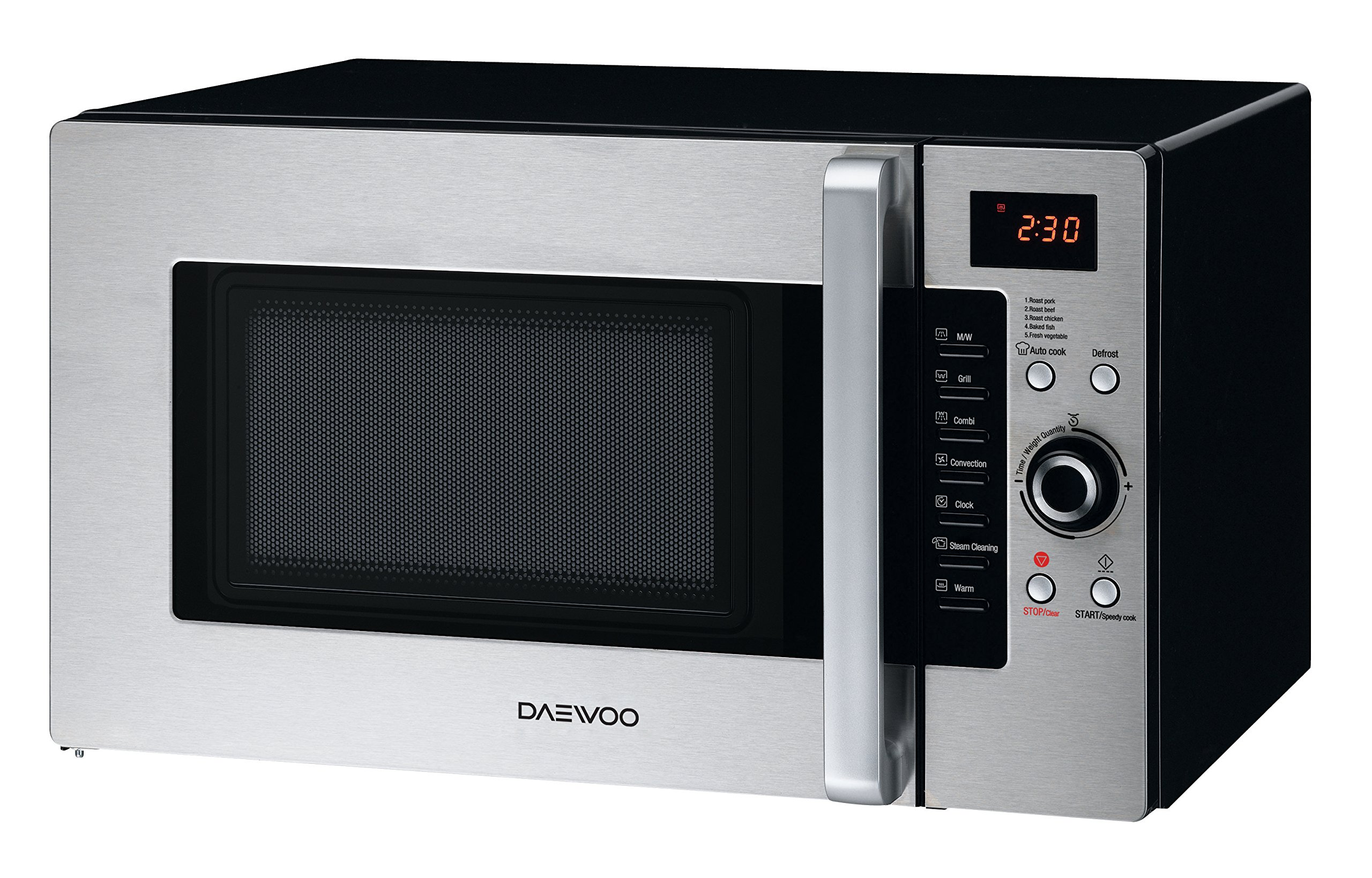 Daewoo KOC-9Q4DS Convection Microwave Oven 1.0 Cu. Ft., 900W | Stainless Steel by Daewoo (Image #3)