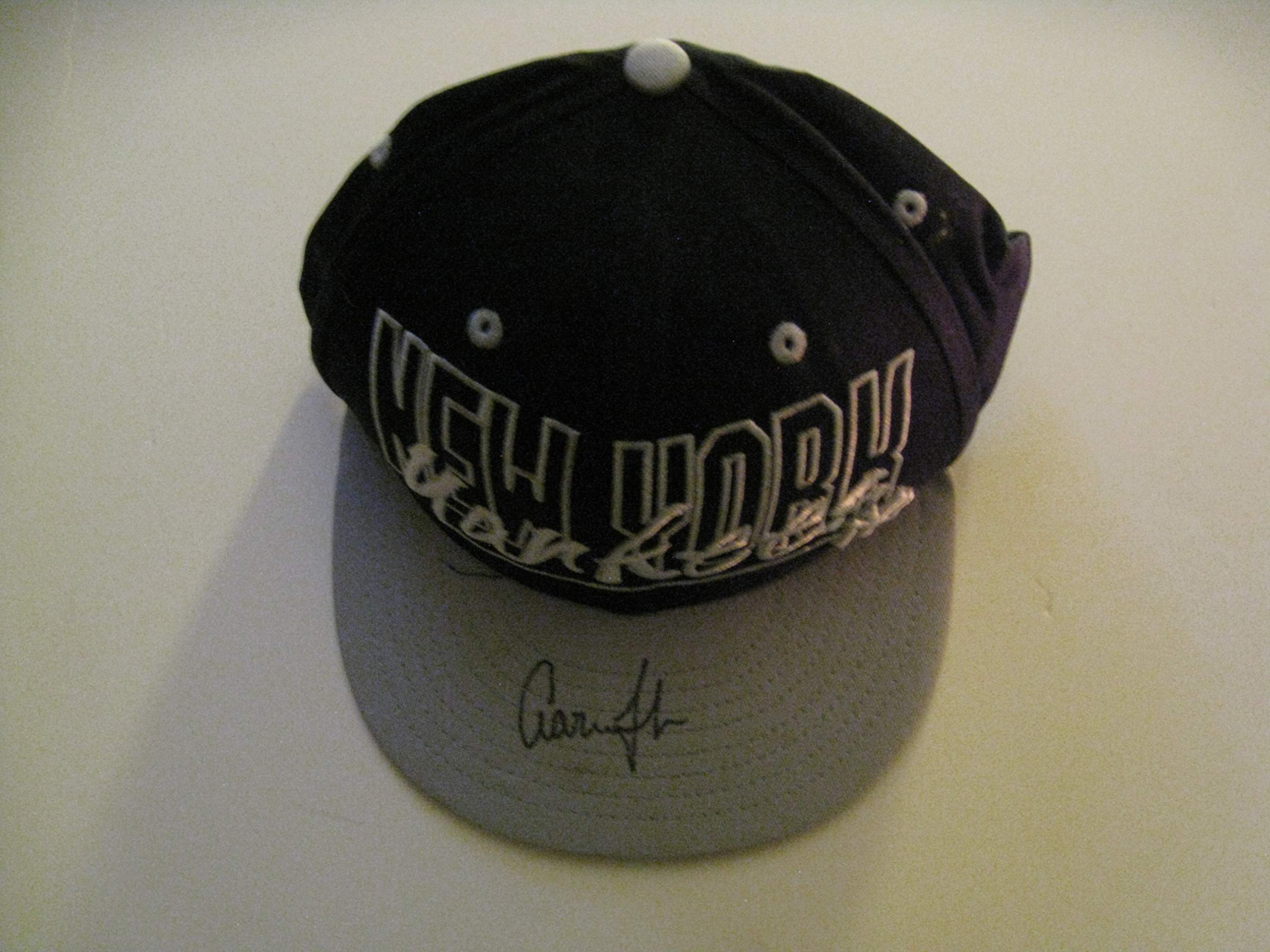 Aaron Judge Autographeed/Signed NY Yankees Hat COA