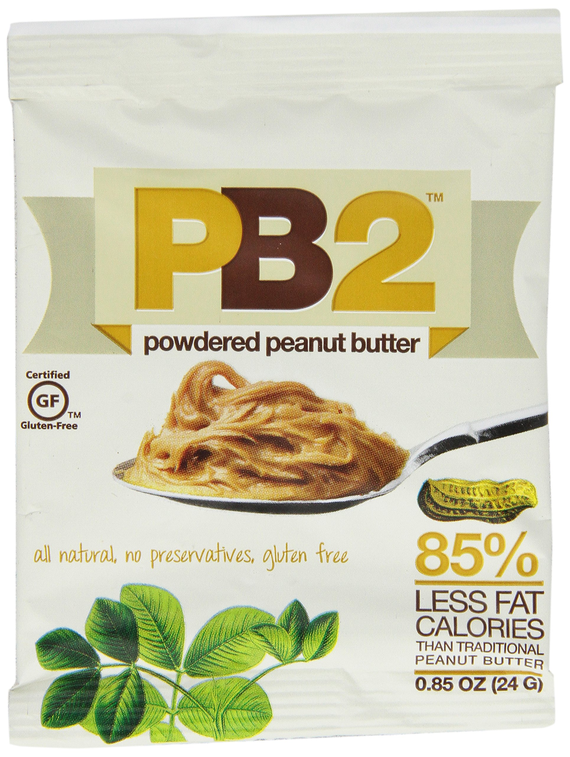 Bell Plantation PB2 Powdered Peanut Butter, 0.85 ounces(Pack of 12) by PB2