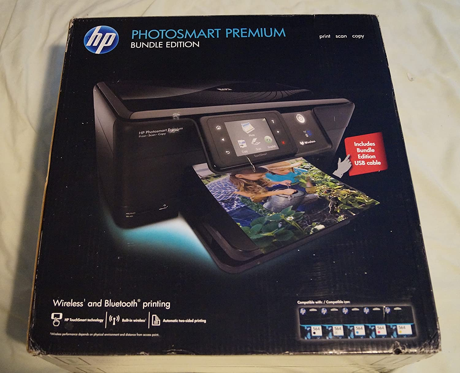 HEWCD055A - HP Photosmart C309g Premium All-in-One Printer w/Duplex Printing/Wireless