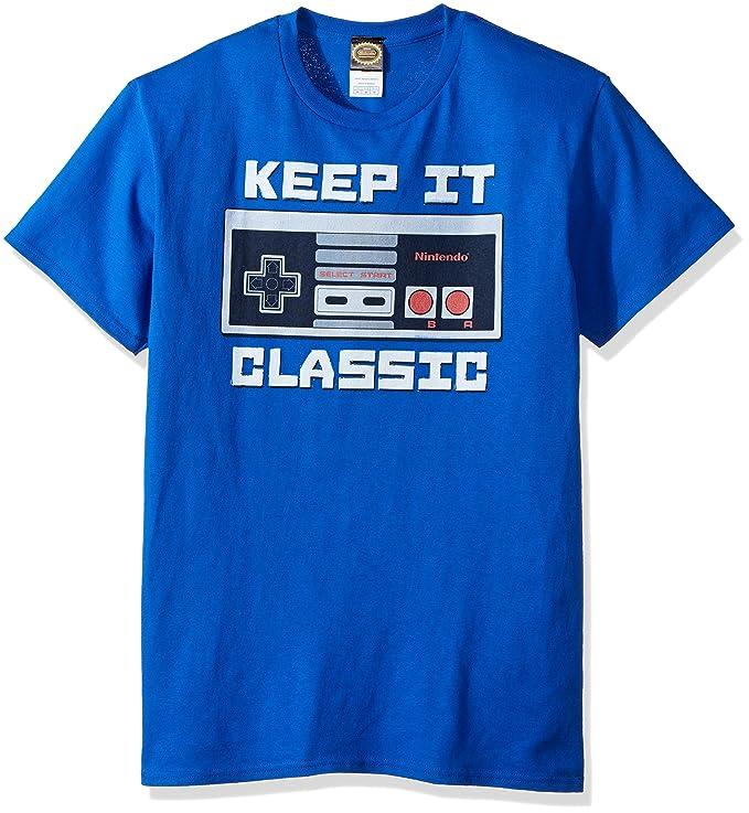77400a115422 Amazon.com: Nintendo Men's Keep It Classic T-Shirt: Clothing