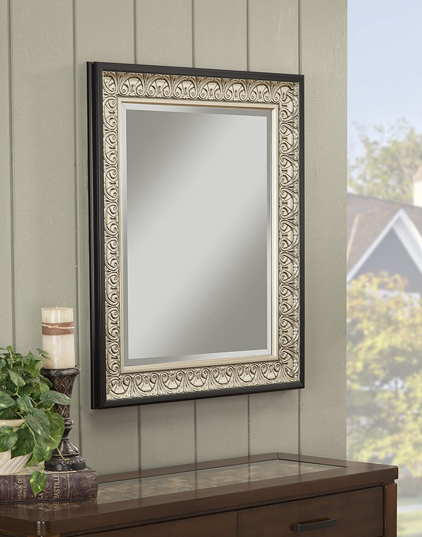 Amazoncom Sandberg Furniture 16017 Monaco Wall Mirror